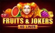 play Fruits and Jokers: 40 lines online slot