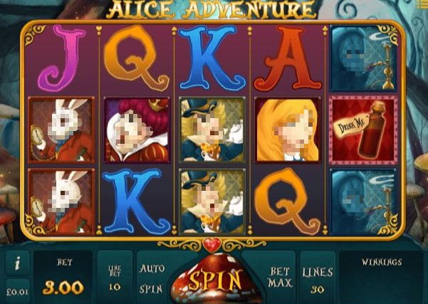 Alice Adventure slot UK