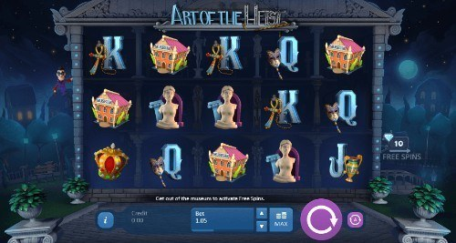 Art Of The Heist slot UK