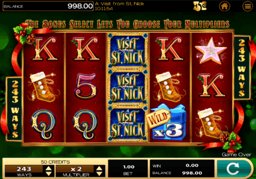 A Visit From St Nick uk slot
