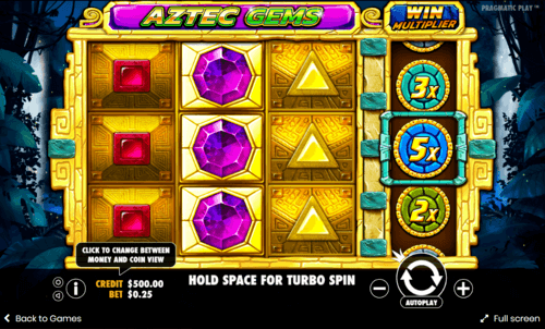 Aztec gems uk slot