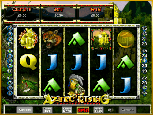 Aztec Rising uk slot