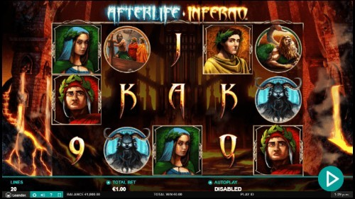 Afterlife: Inferno slot UK