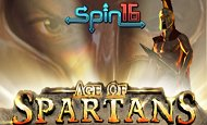 play Age of Spartans Spin16 online slot