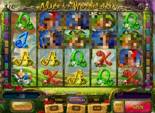 Alice In Wonderland Online Slot