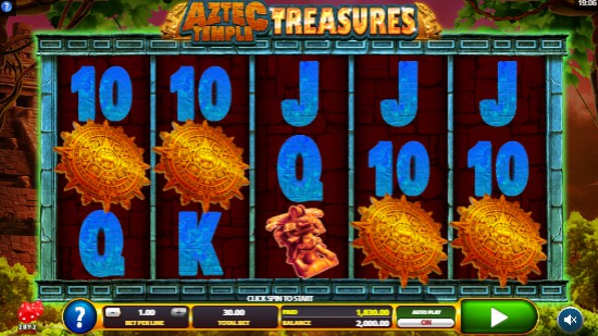 Aztec Temple Treasures slot UK