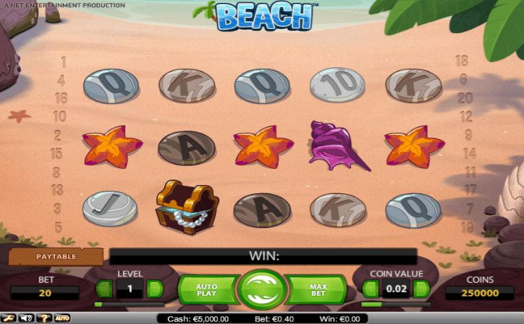 Beach slot UK
