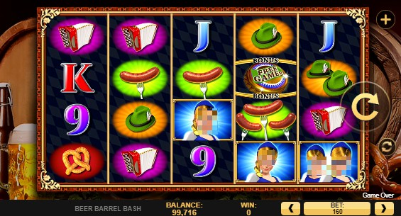 Beer Barrel Bash slot UK