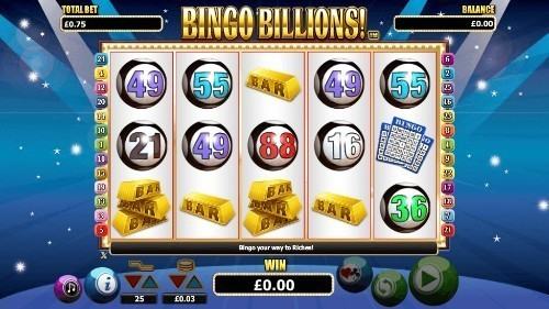Bingo Billions slot UK