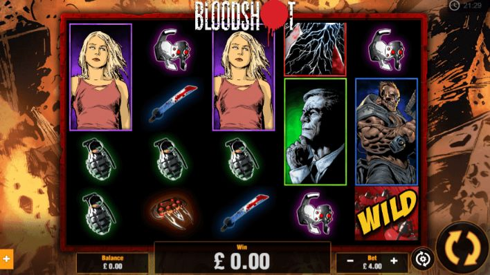 BloodShot slot UK