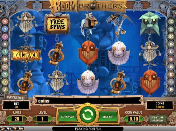 Boom Brothers slot UK
