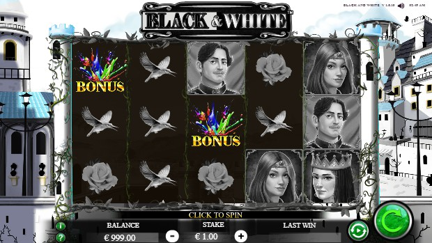 Black and White slot UK