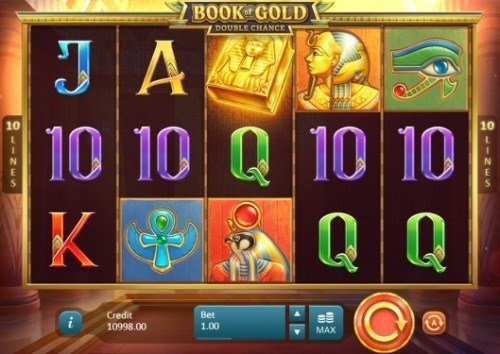 Book of Gold: Double Chance slot UK