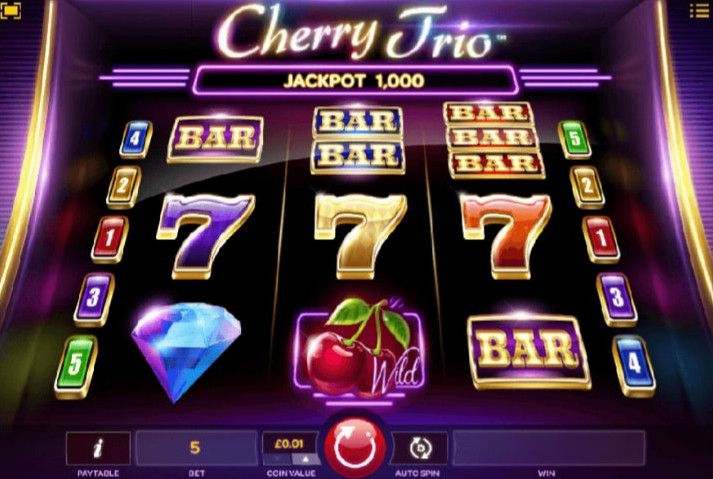 Cherry Trio slot UK