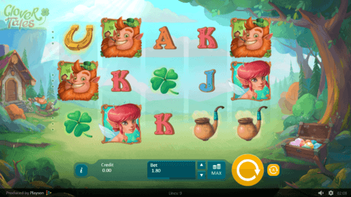 clover tales slot game