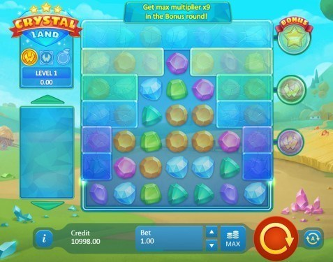Crystal Land slot UK