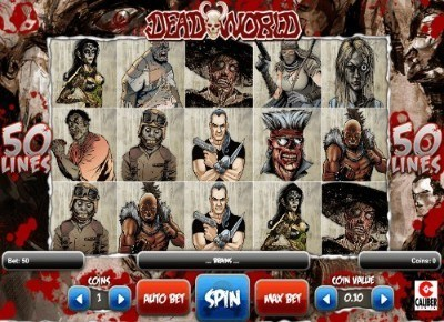 Deadworld slot UK
