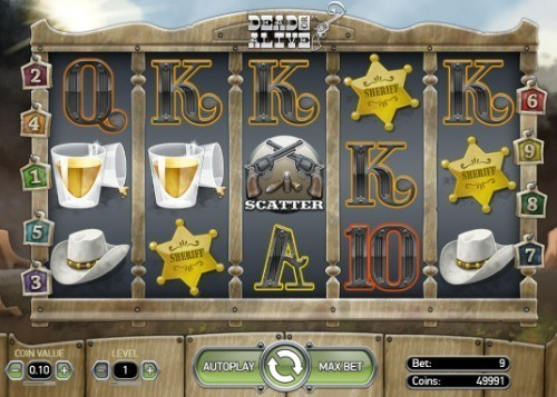 Dead or Alive slot UK