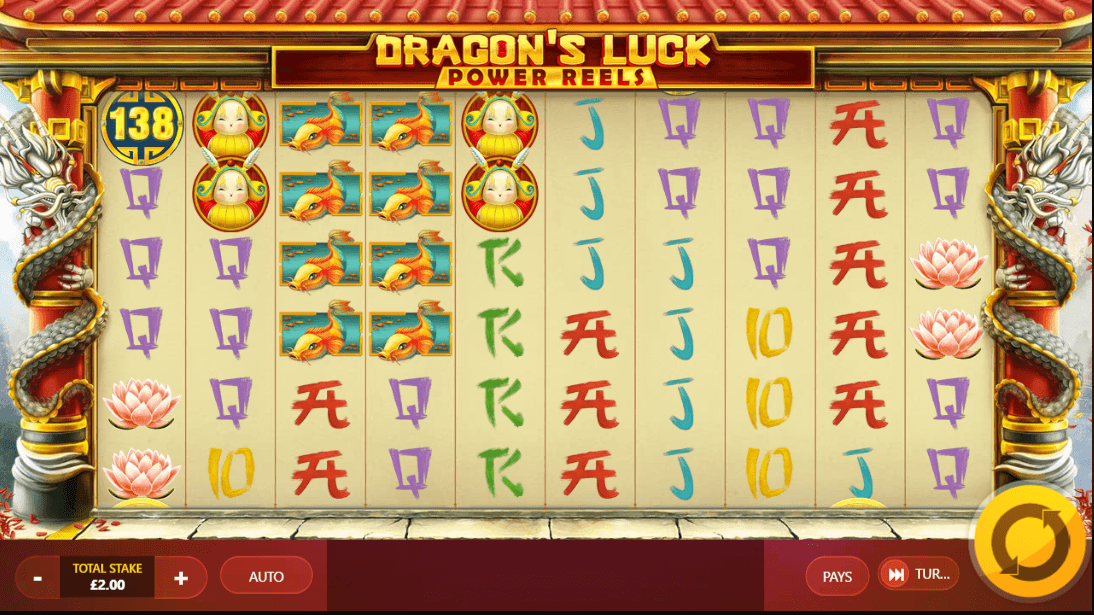 Dragon's Luck Power Reels slot UK