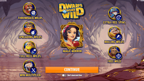 Dwarfs gone wild uk slot