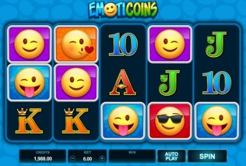 Emoticoins slot UK