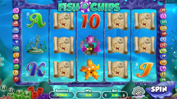 Fish And Chips slot UK