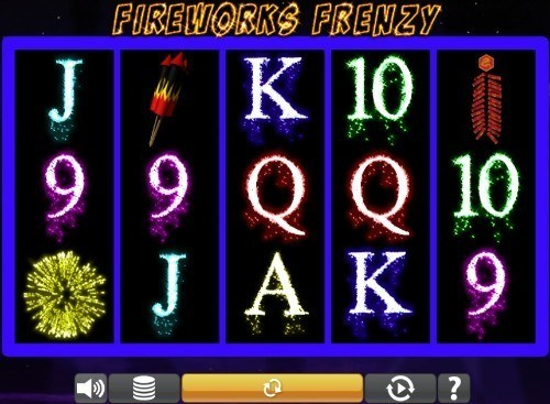 Fireworks Frenzy slot UK