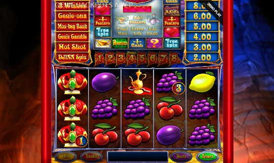 Genie Jackpots Cave of Wonders slot UK