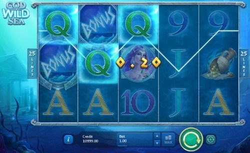God of Wild Sea slot UK