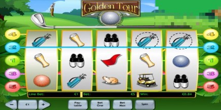 Golden Tour slot UK