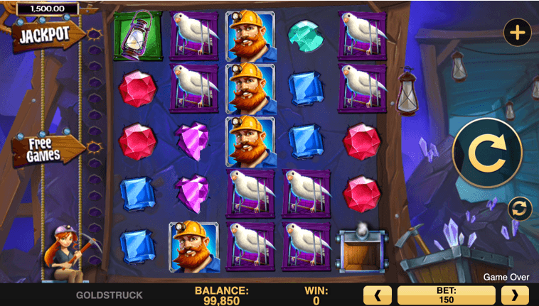 Goldstruck slot UK