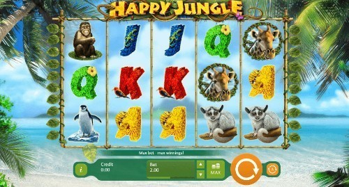 Happy Jungle Deluxe slot UK