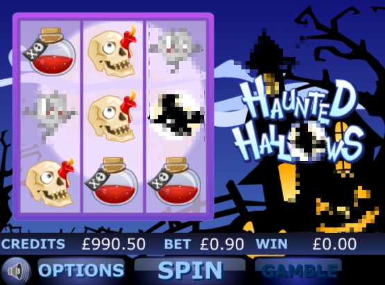 Haunted Hallows slot UK