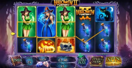 Halloween Fortune 2 slot UK