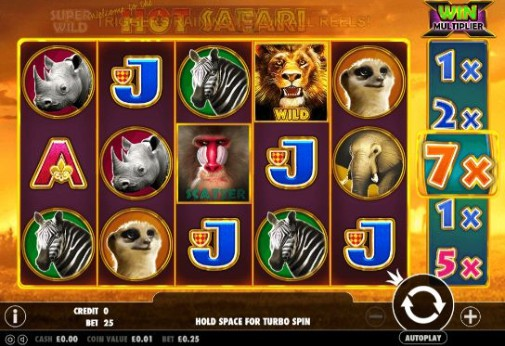 Hot Safari Online Slots