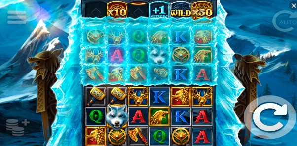 Ice Wolf slot UK