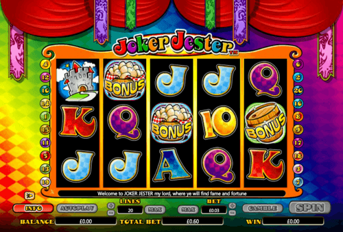 Joker Jester slot
