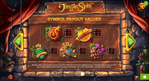 Jingle Spin slot UK
