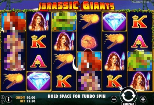 Jurassic Giants Online Slot