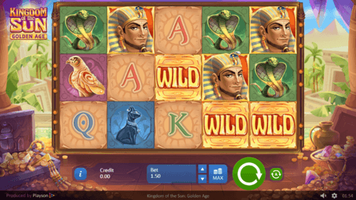 Kingdom of The Sun uk slot