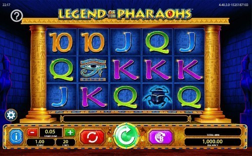Legend Of The Pharaohs slot UK
