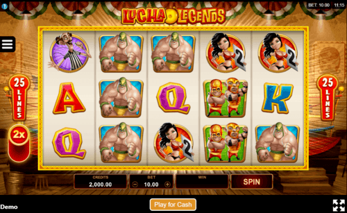 Lucha Legends uk slot game