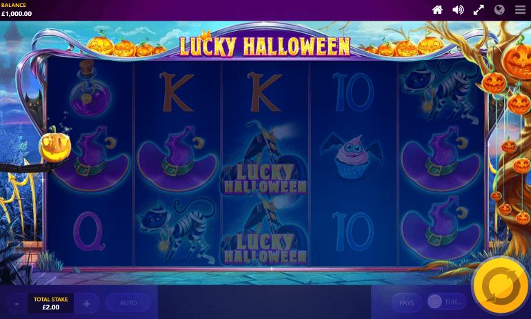 Lucky Halloween slot UK