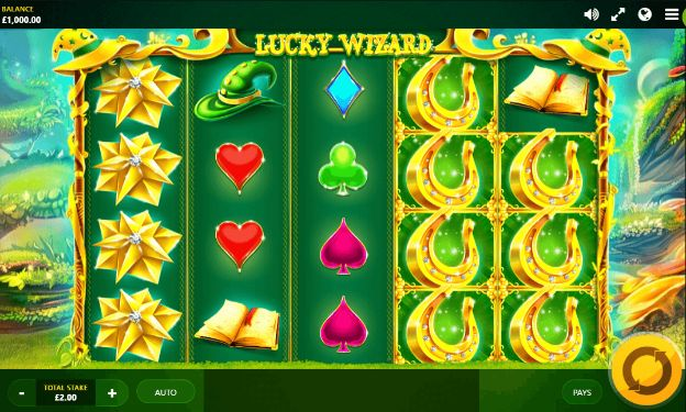 Lucky Wizard slot game