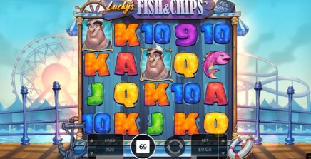 Lucky's Fish & Chips slot UK
