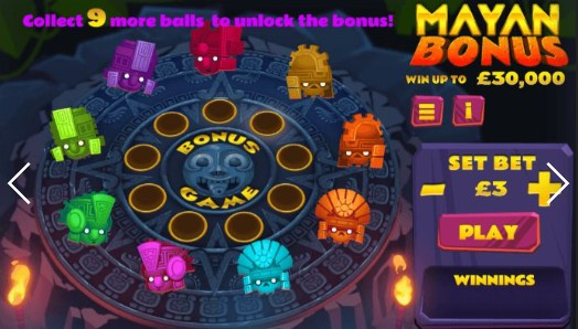 Mayan Bonus Online Casino UK