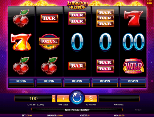 Million Coins Respin uk slot