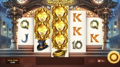 Masquerade slot UK