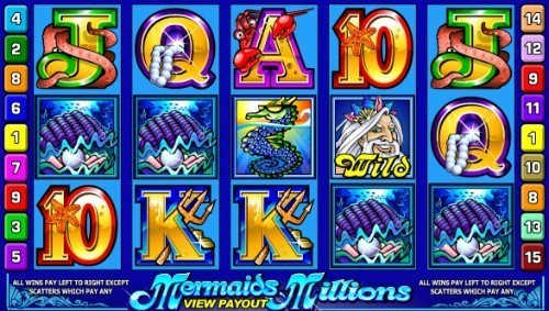 Mermaids Millions slot UK