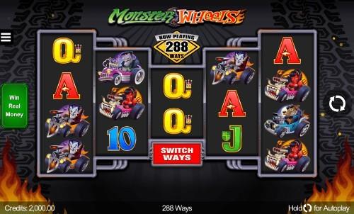 Monster Wheels slot game